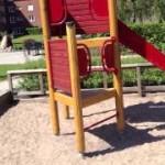 Детская площадка в Швеции